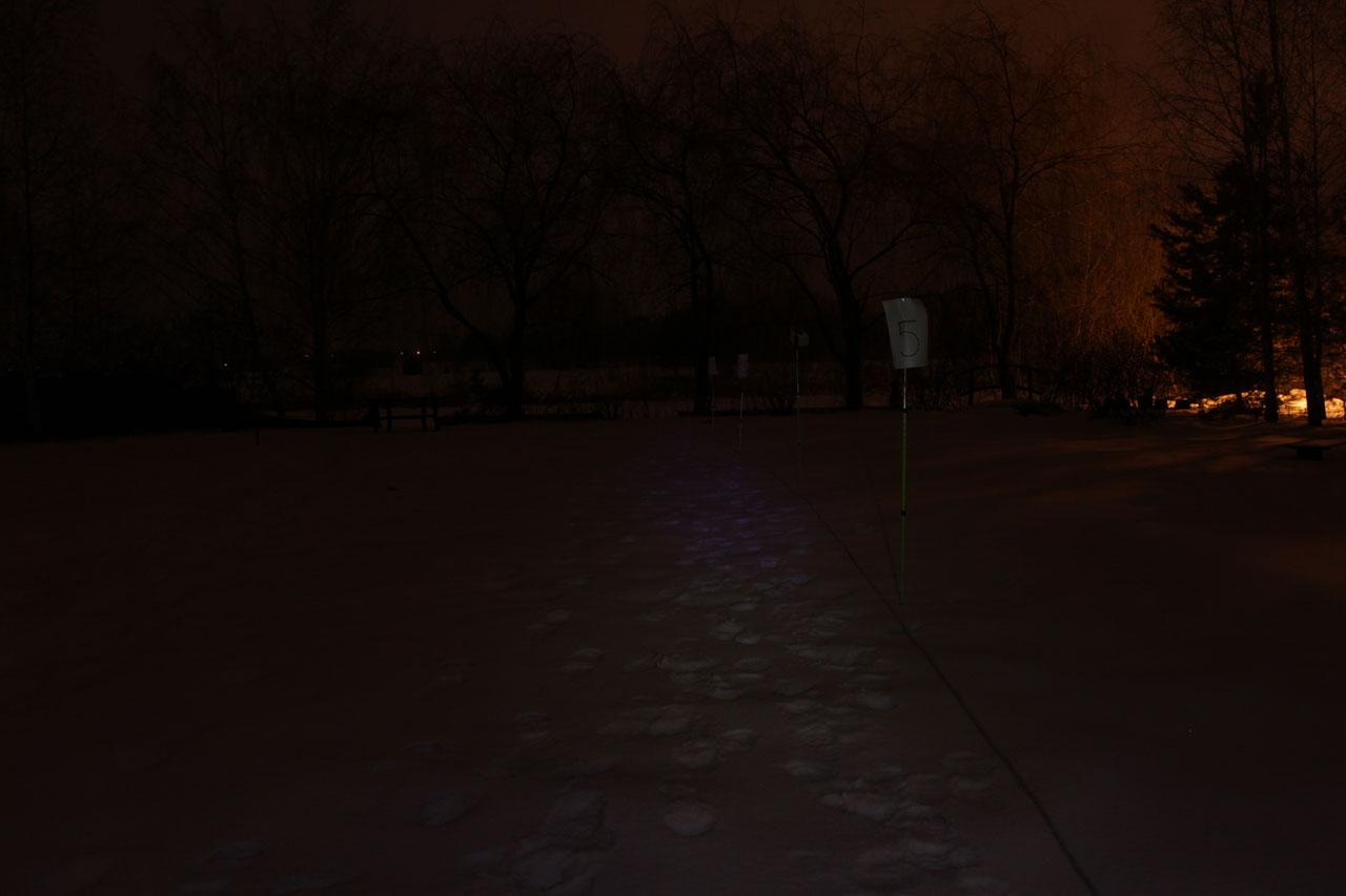Дальний свет после двух часов работы на максимальном режиме