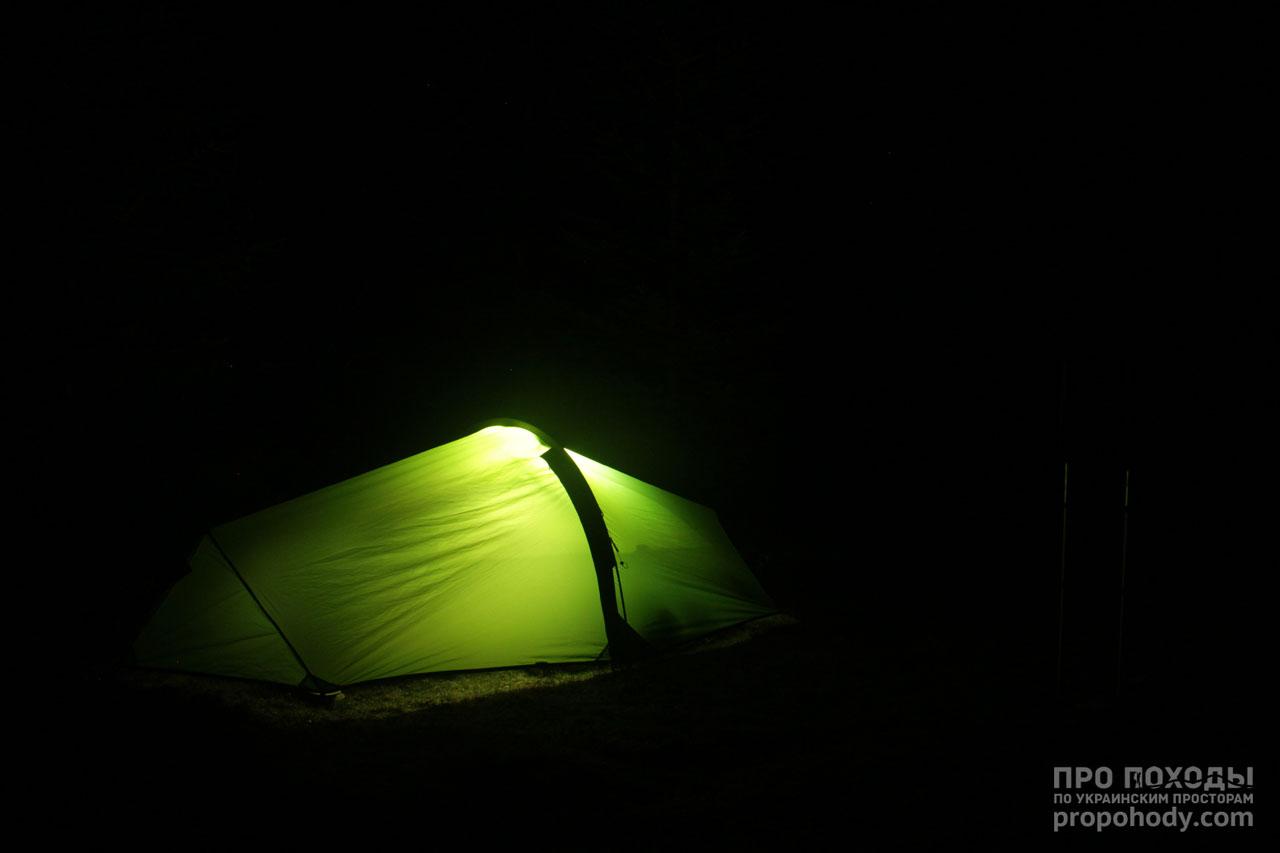 Ночевка в палатке Wild Country Zephyros 2 Lite