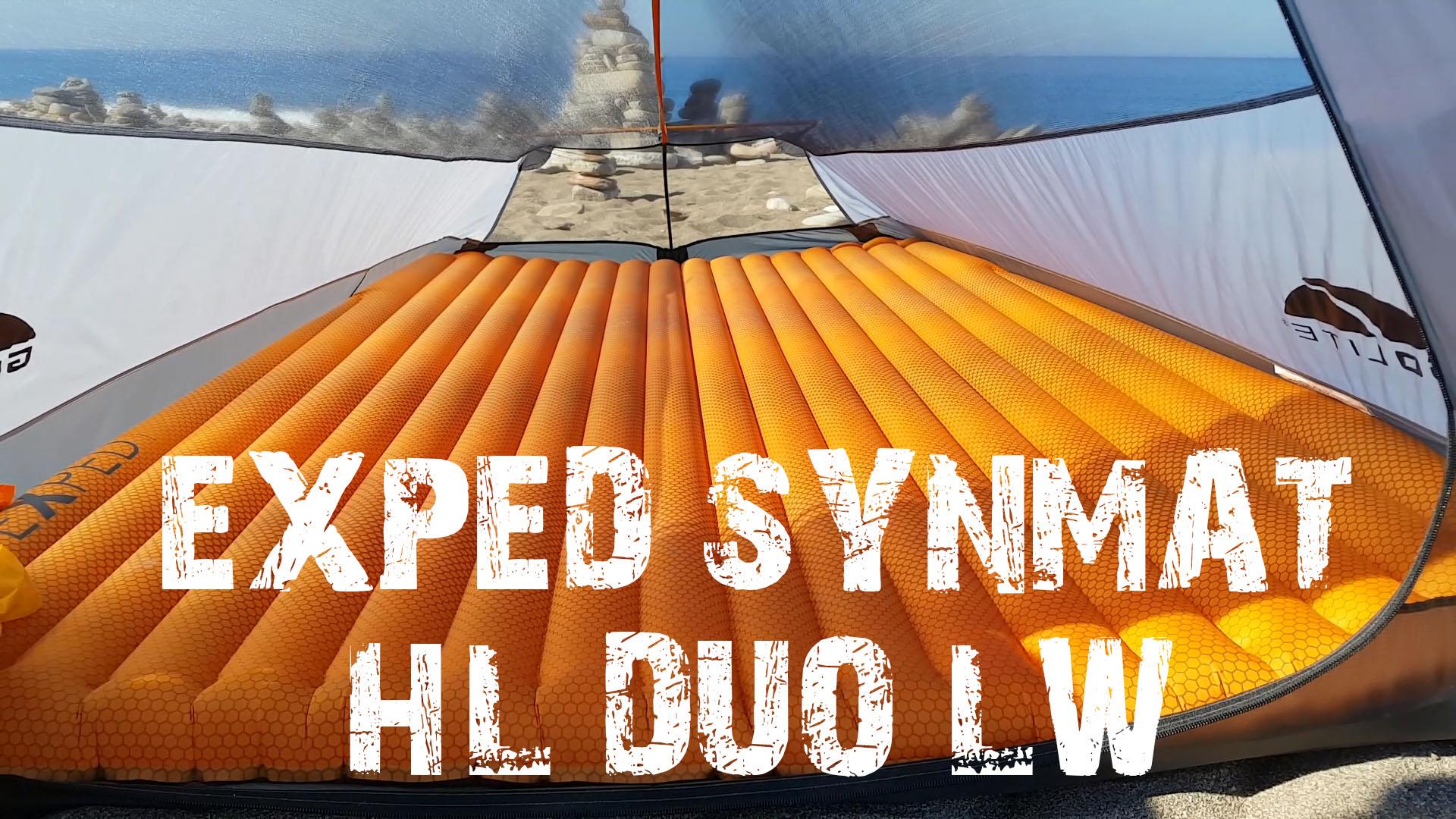 Новинка 2017! Подвійний надувний килимок Exped Synmat HL Duo LW. Огляд