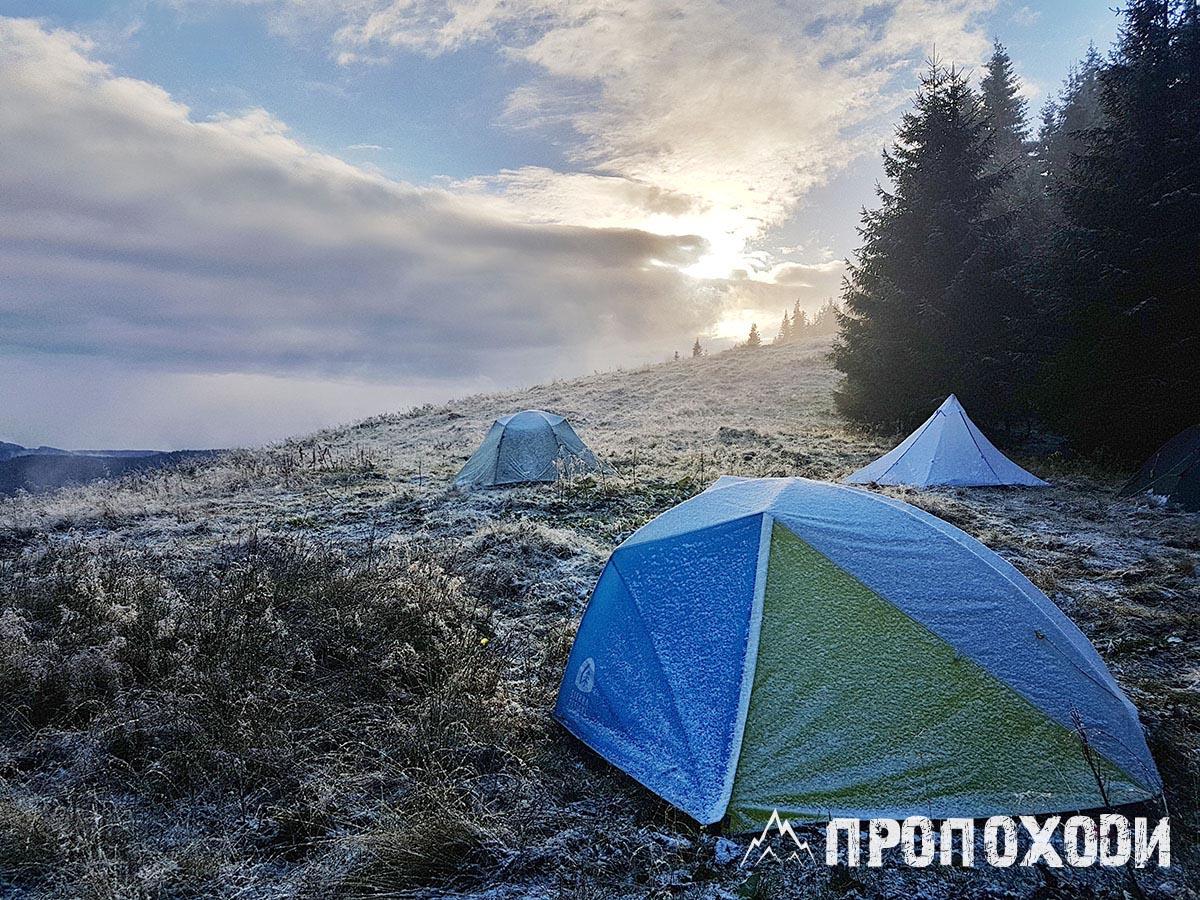 спорядження для зимового походу в гори