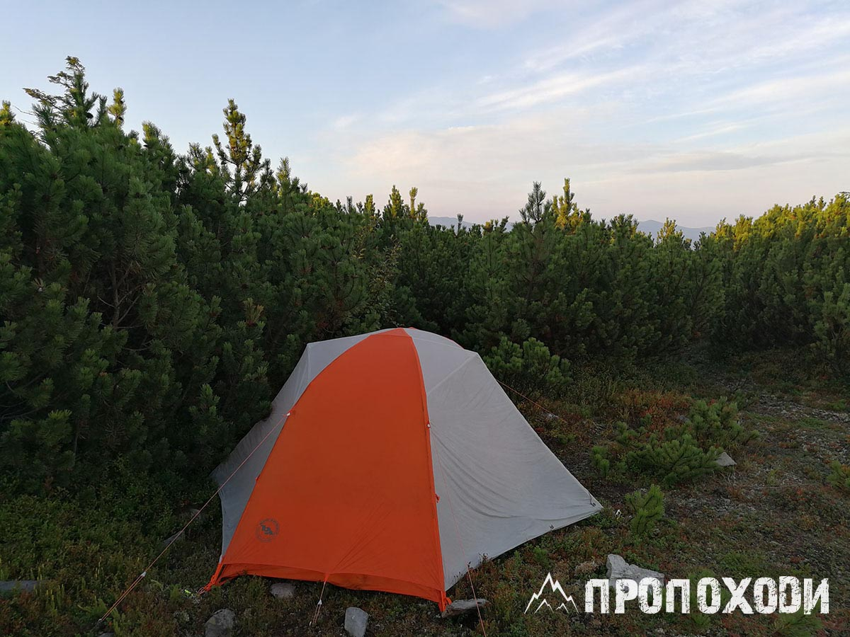 палатка Big Agnes Copper Spur HV UL 2 обзор