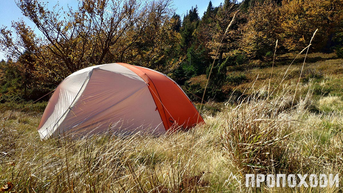 туристичний намет Big Agnes Copper Spur HV UL 2