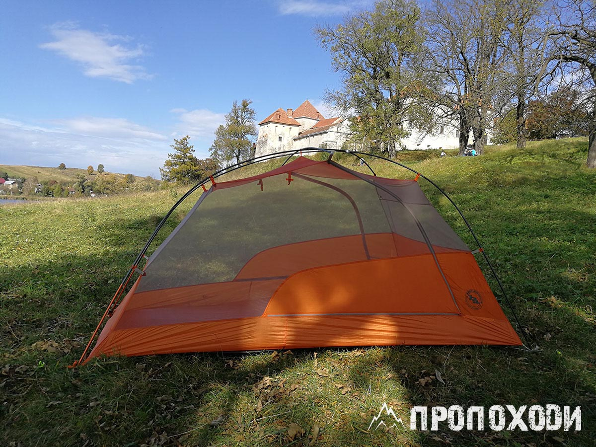 спальня намету Big Agnes Copper Spur HV UL 2