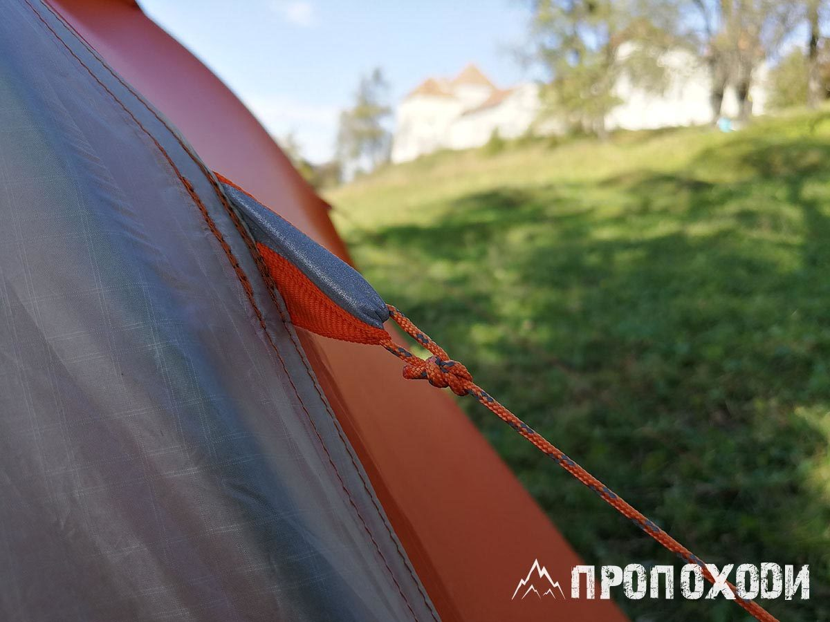 Оттяжки для палатки Big Agnes Copper Spur hv ul2