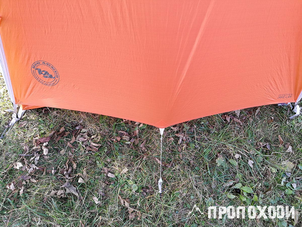кріплення відтяжок палатки copper spur hv ul 2