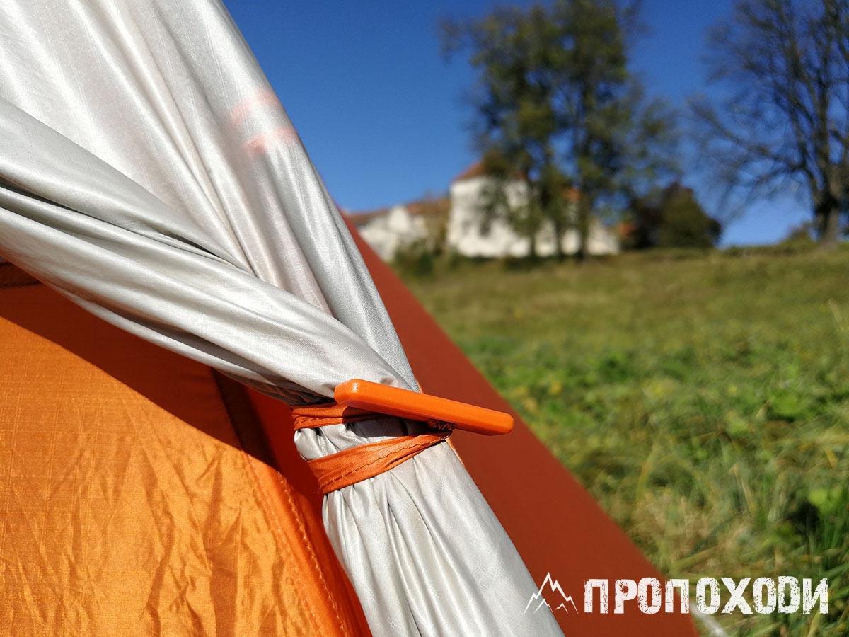 фиксация дверей тамбура Copper spur hv ul2