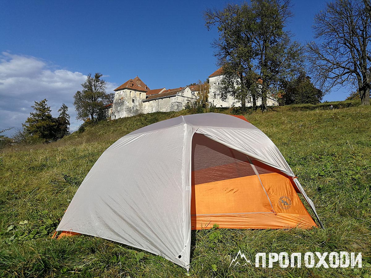 ультралайт палатка Big Agnes Copper Spur HV UL2