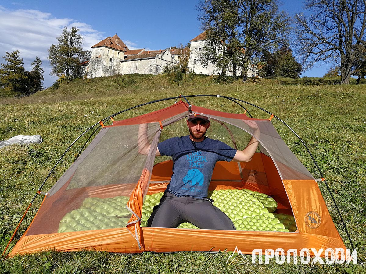 розмір намету big agnes copper spur hv ul2