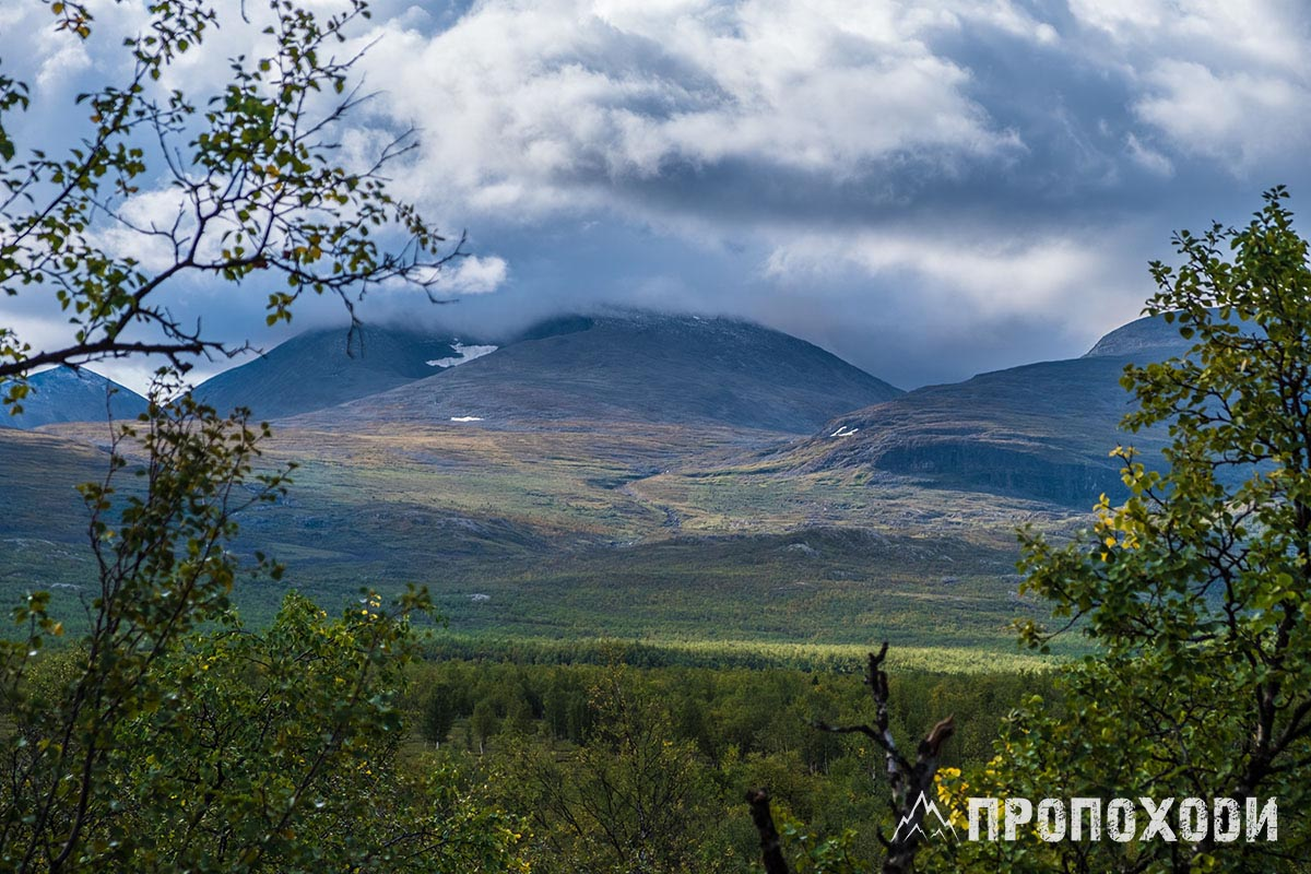 Kungsleden mountains