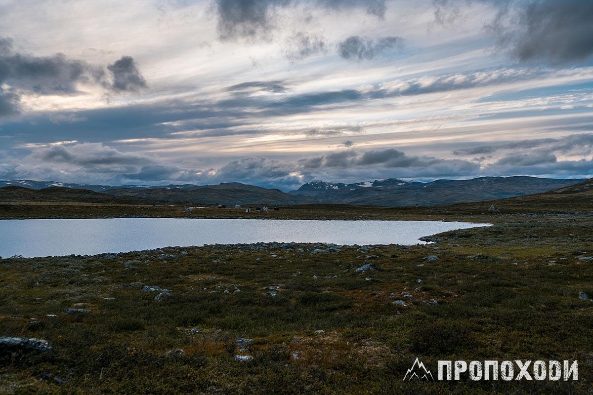 Kungsleden Sweden landscape lake