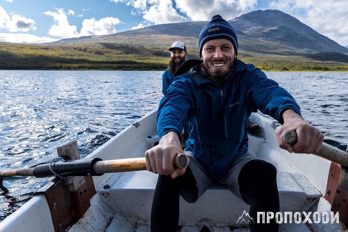 переправи на маршрутах гребти на човні