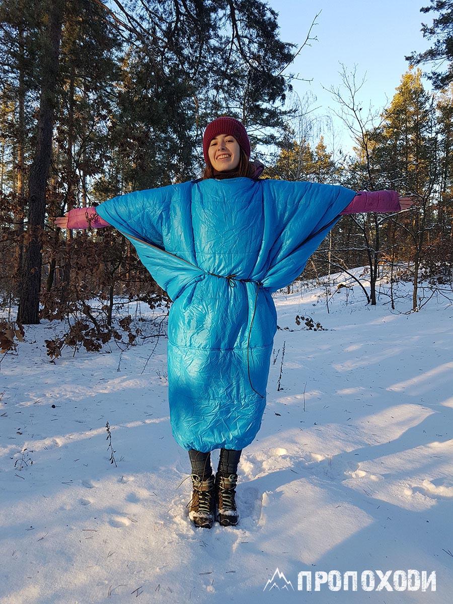 Квілт Liteway Sleeper Quilt Poncho пончо